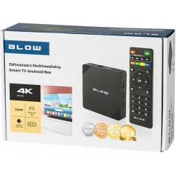 Android TV BOX Smart TV 4K UltraHD WiFi