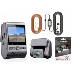 Rejestrator Kamera VIOFO A129 PLUS DUO-G+128GB+ACC